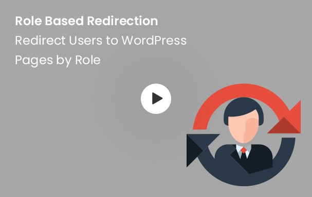 Role Based Redirection