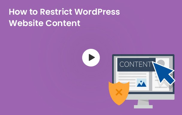 Restrict Website Content